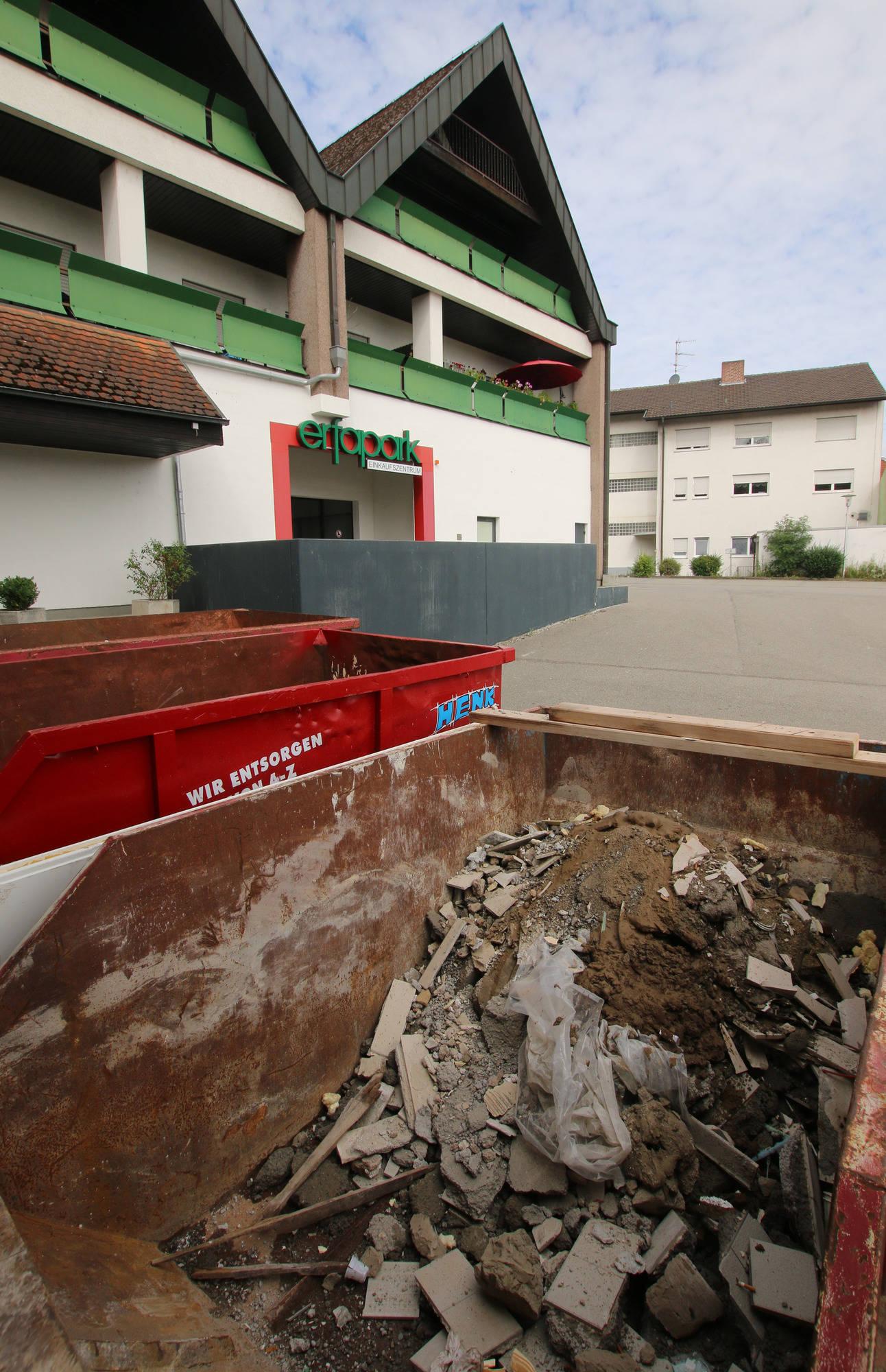 Baumarkt Walldorf erfapark hardheim der eingang zum neuen baumarkt wird verlegt
