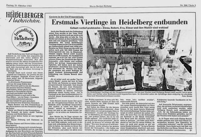Wiesenbacher Vierlinge 24 Mal Am Tag Wickeln Und Futtern