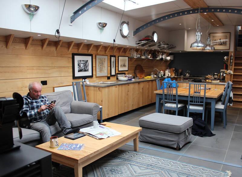 hohe mietpreise treiben viele menschen in london auf hausboote gesellschaft rhein neckar zeitung. Black Bedroom Furniture Sets. Home Design Ideas