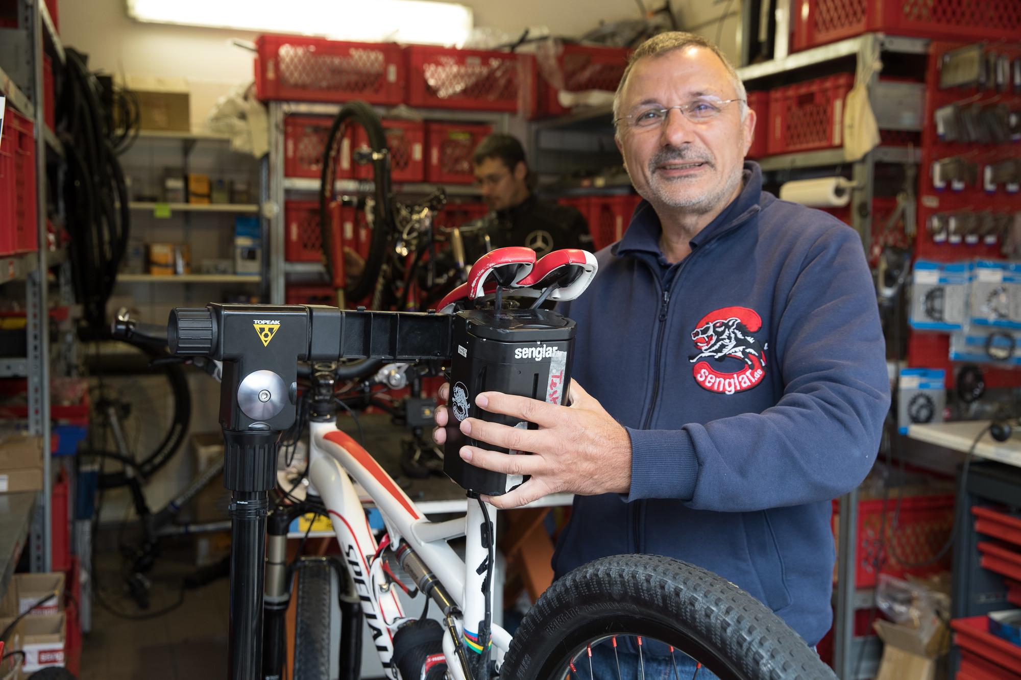 Fahrradwerkstatt Senglar In Weinheim In Den Pyrenäen Getestet In