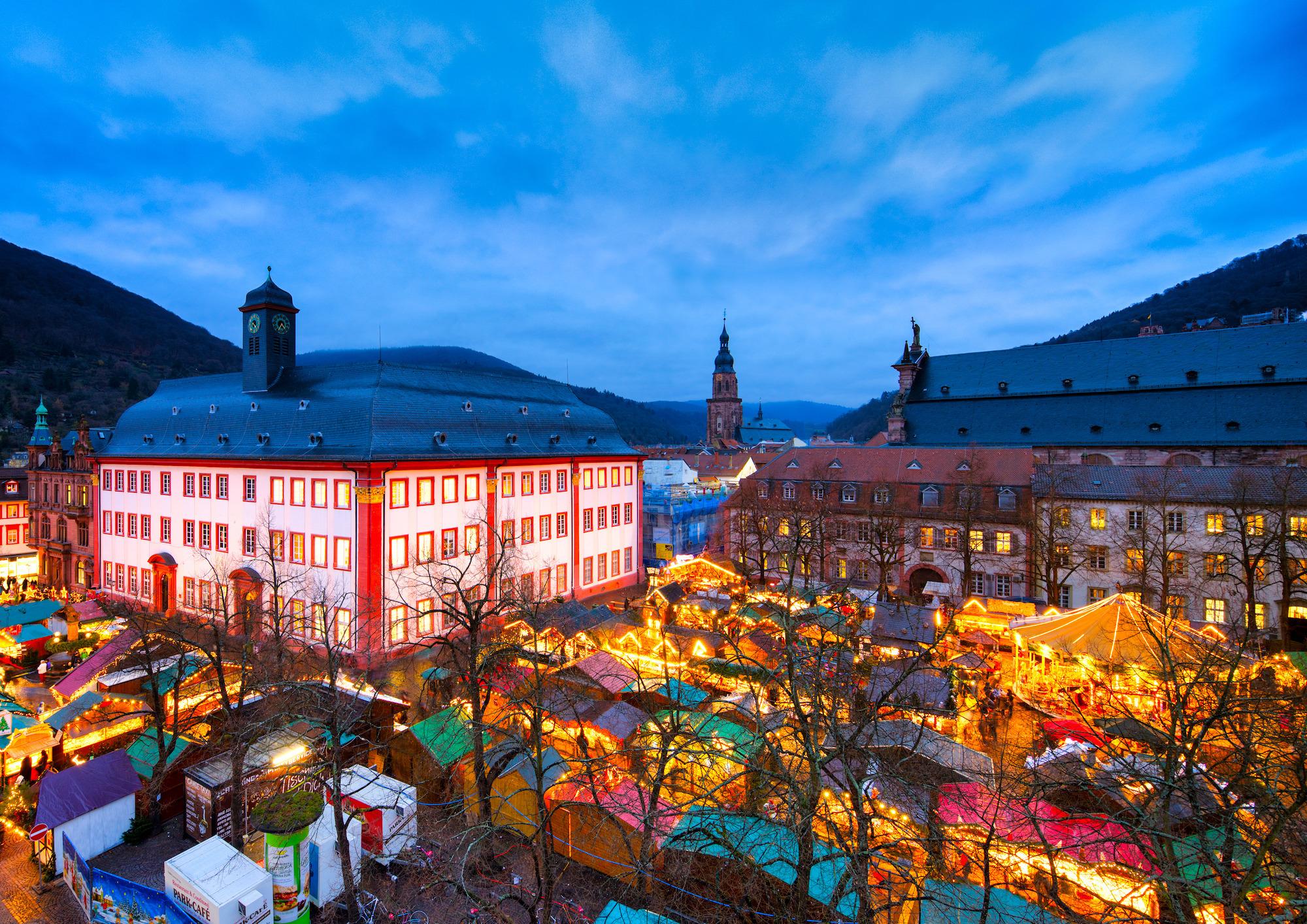 öffnungszeiten Weihnachtsmarkt Heidelberg.Weihnachten In Heidelberg Heidelberger Weihnachtsmarkt Eröffnet Am