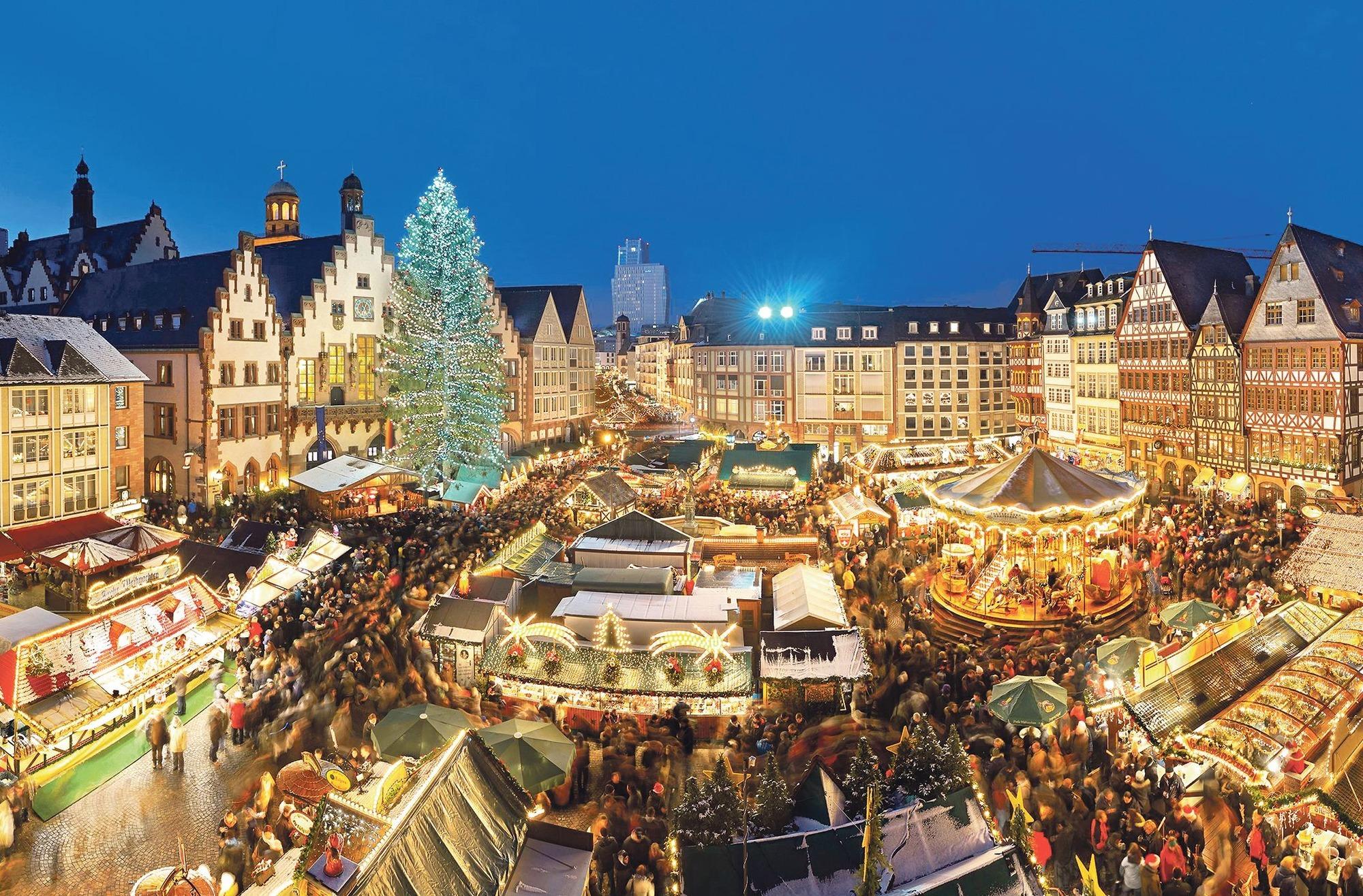 Frankfurter Weihnachtsmarkt.Frankfurter Weihnachtsmarkt Business Und Besinnlichkeit Reise