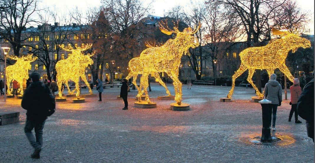 weihnachten in stockholm die verzauberte stadt reise. Black Bedroom Furniture Sets. Home Design Ideas