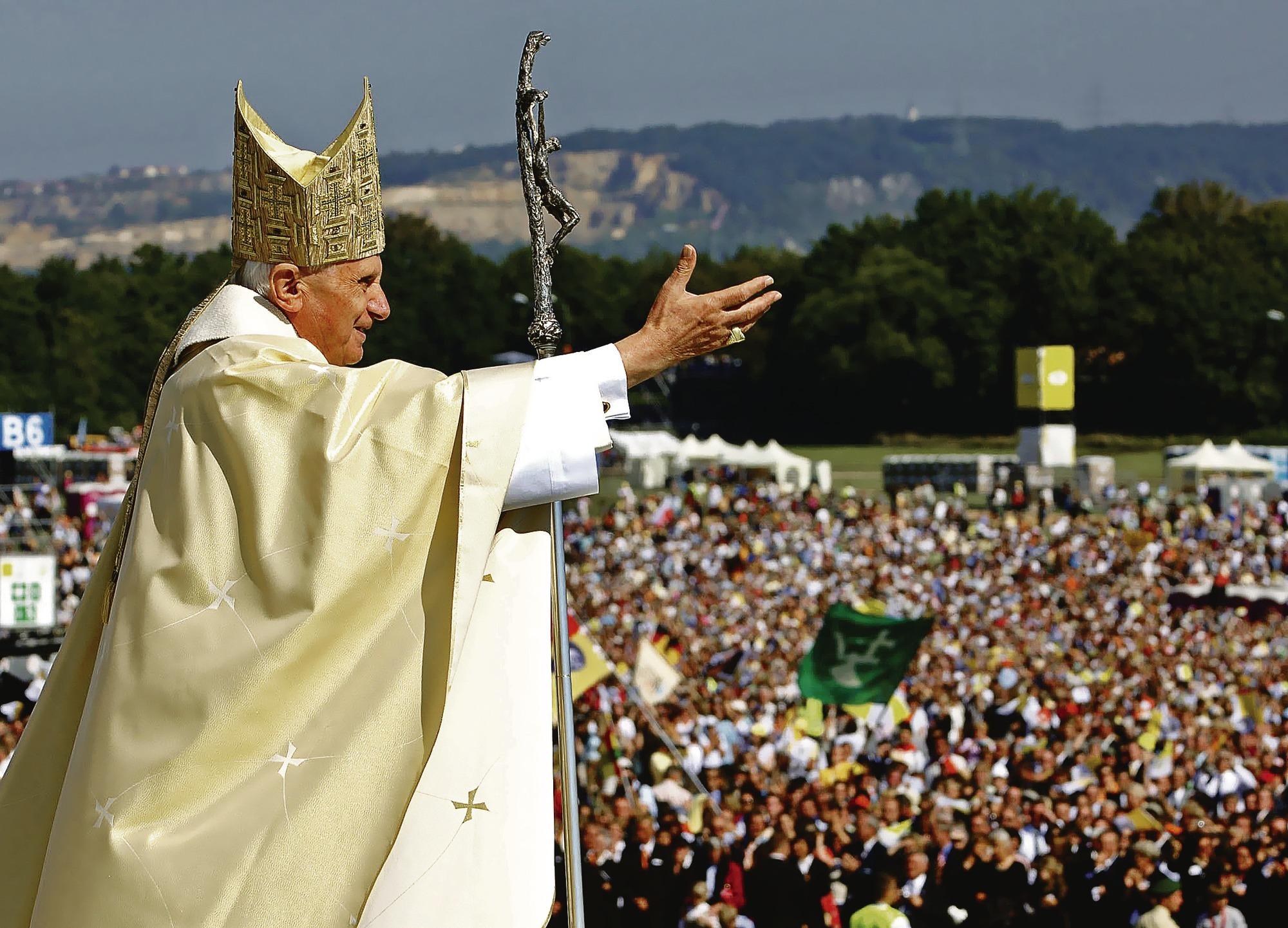 Papst Biografie Joseph Ratzinger Am Ende Einer Langen Pilgerschaft