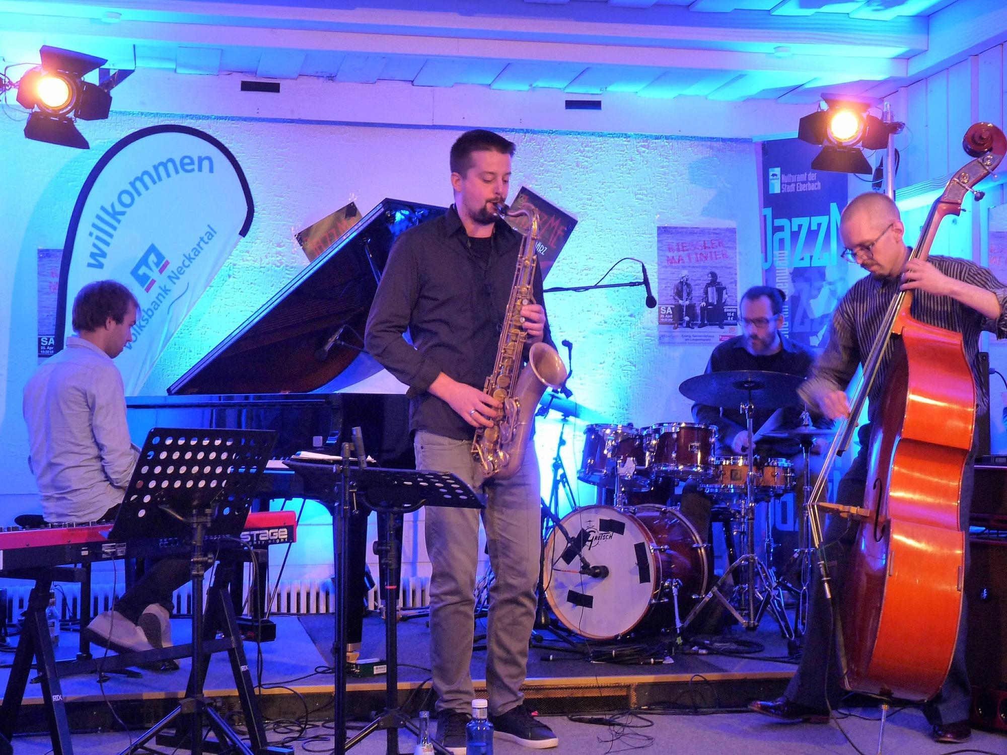 JazzMe 2018 im Club 55 in Eberbach: Es flutschte intergalaktisch ...