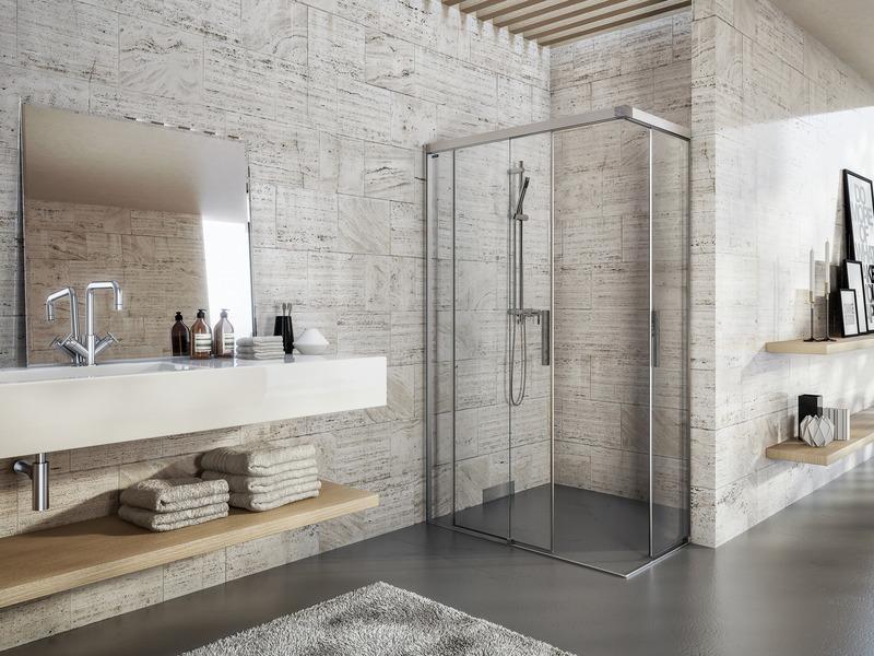 Wellness im badezimmer die passende dusche finden haus garten rhein neckar zeitung - Wandplatten bad ...