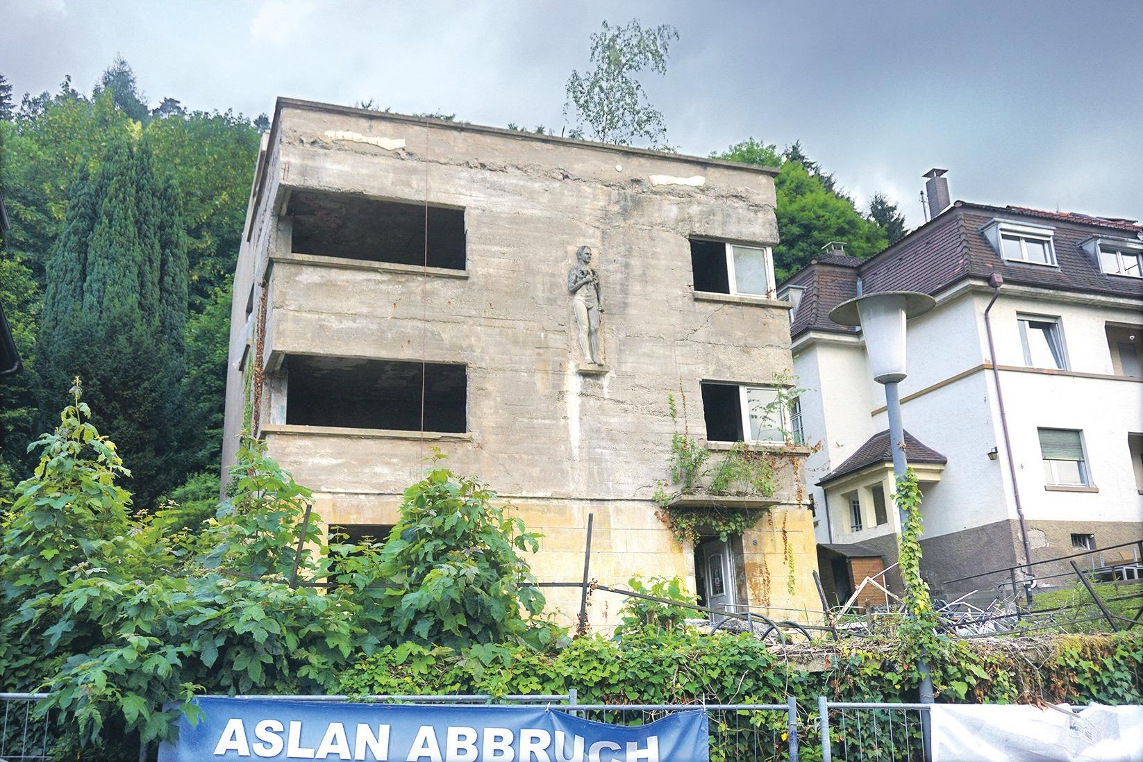 Ärger um Hausabriss in Schlierbach: \