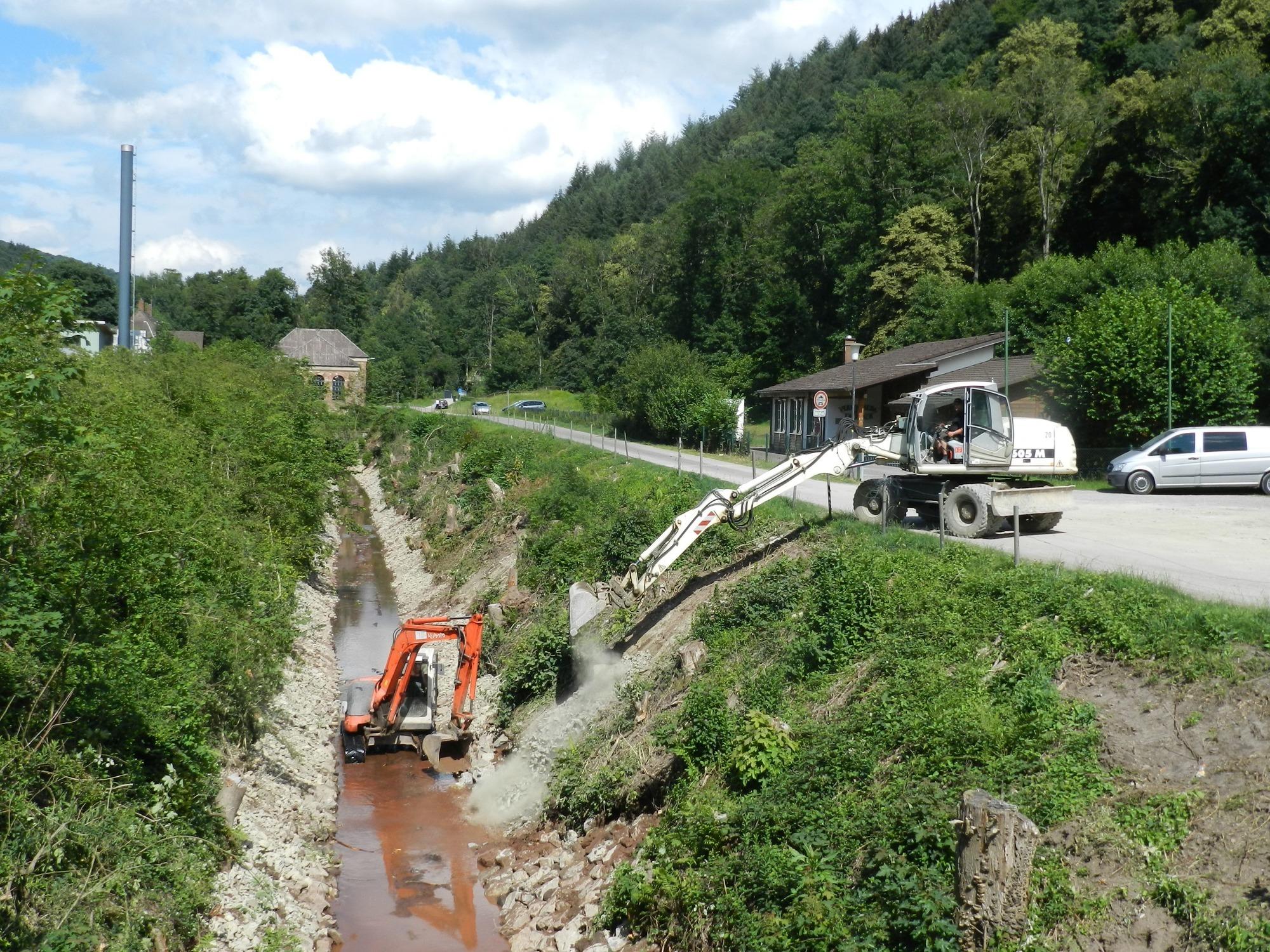 eberbach: ein stausee ohne wasser - eberbach - rhein neckar zeitung