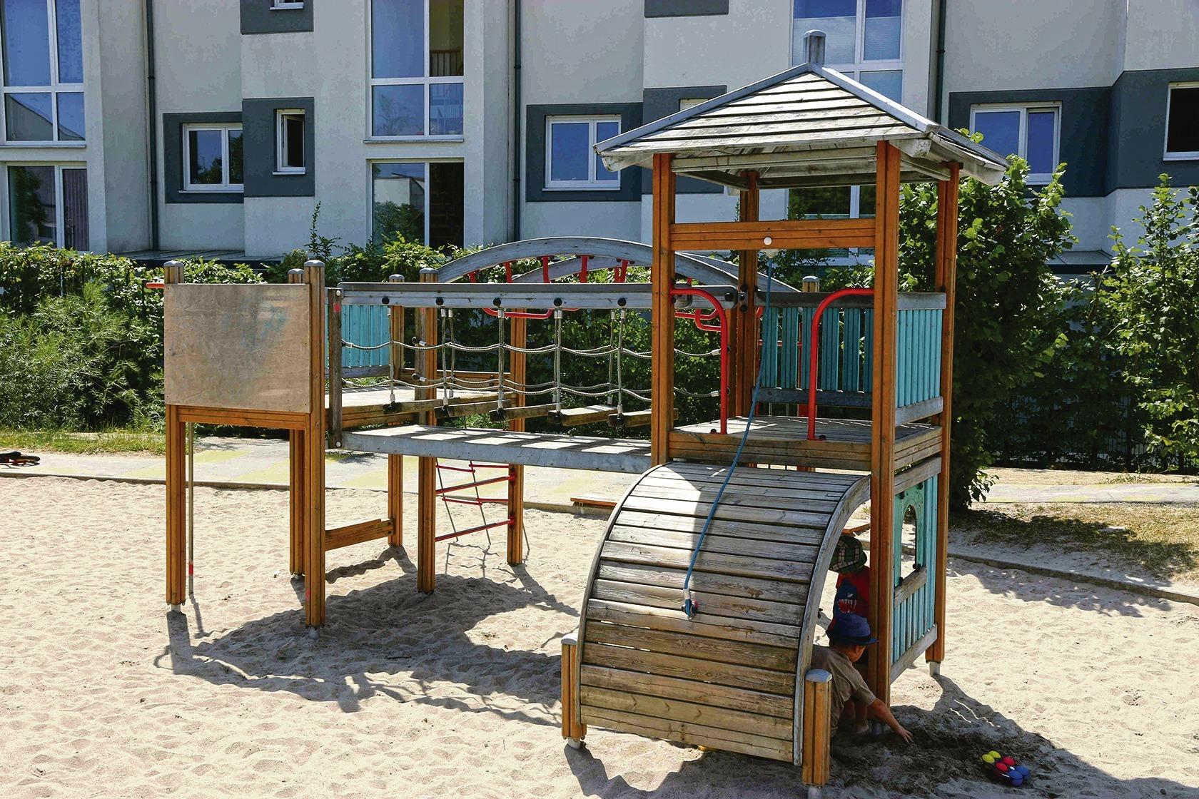 Klettergerüst Wohnung : Kinderspielplatz in heidelberg rohrbach: missstände bringen mütter