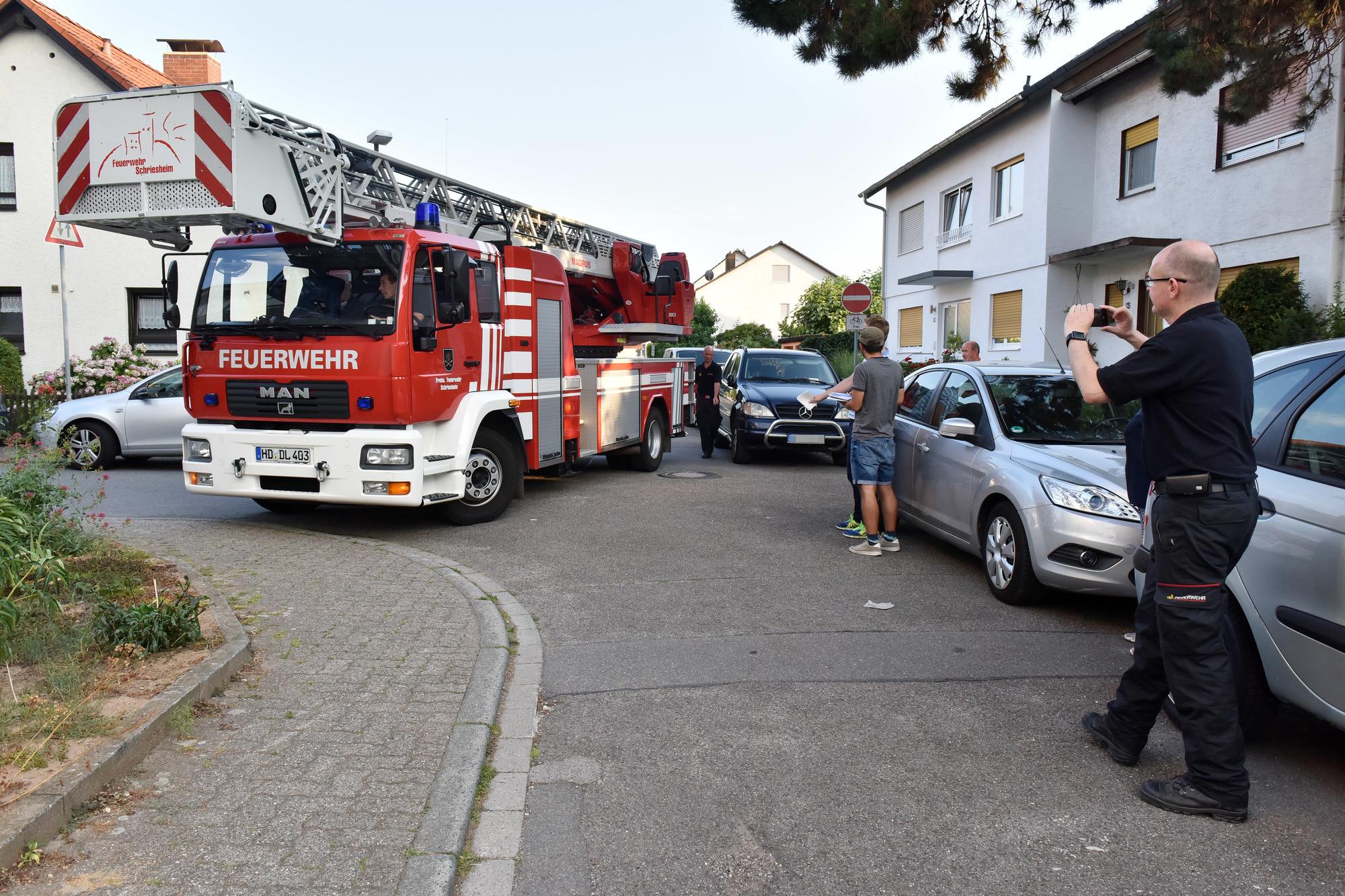 Schriesheim: Weil im Notfall für die Feuerwehr jede Sekunde zählt ...