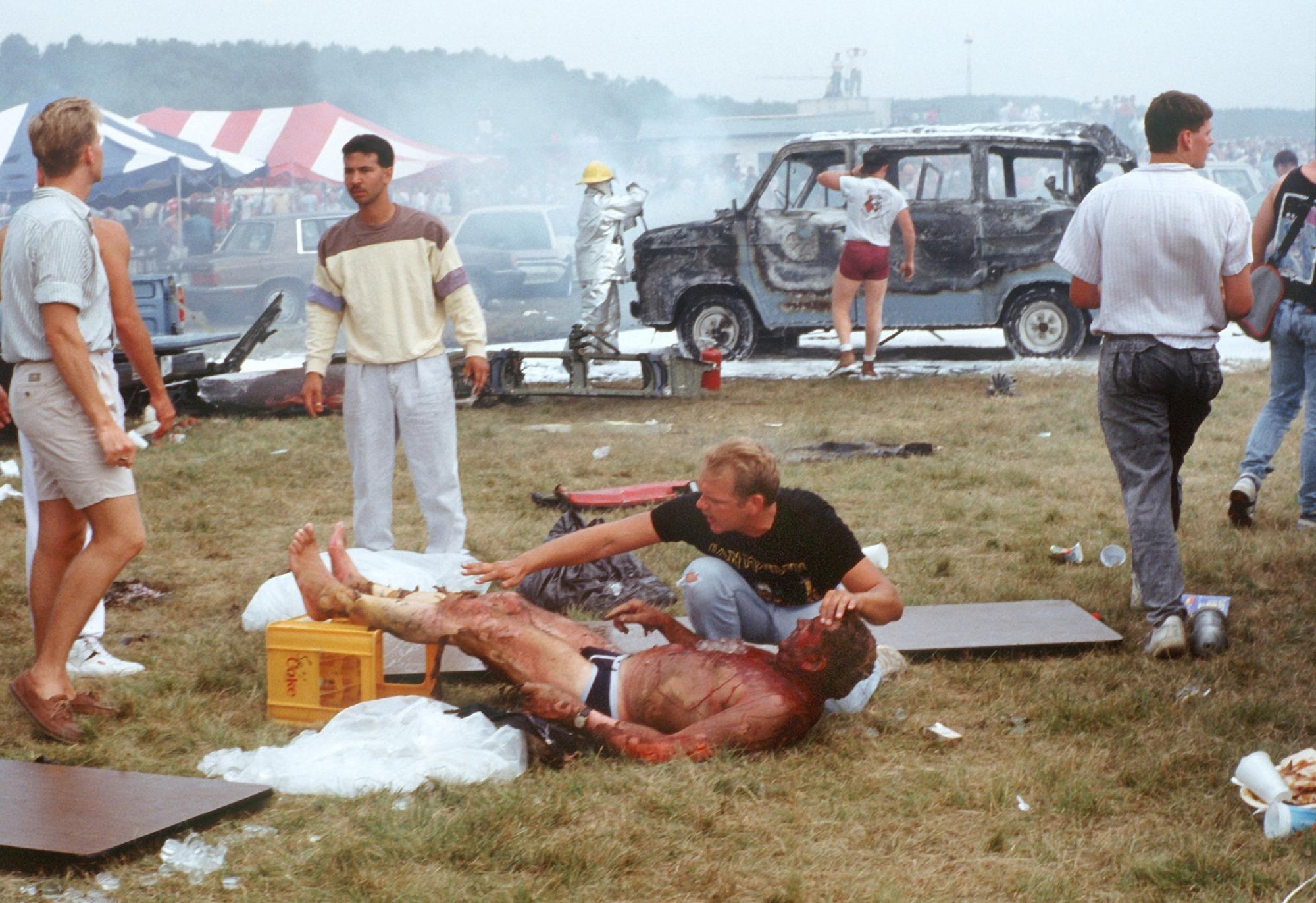Flugkatastrophe Ramstein