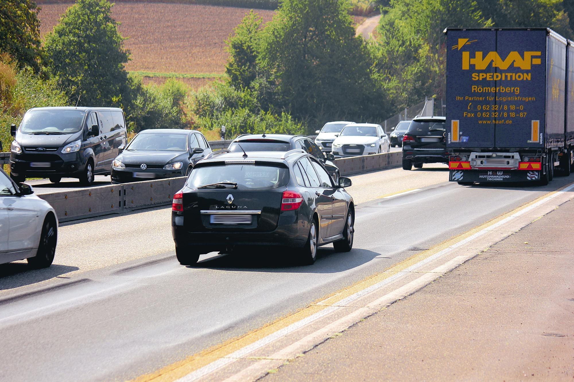 Spurrillen In Der Autobahn A6 Wird Ab Dem Heutigen Dienstagabend