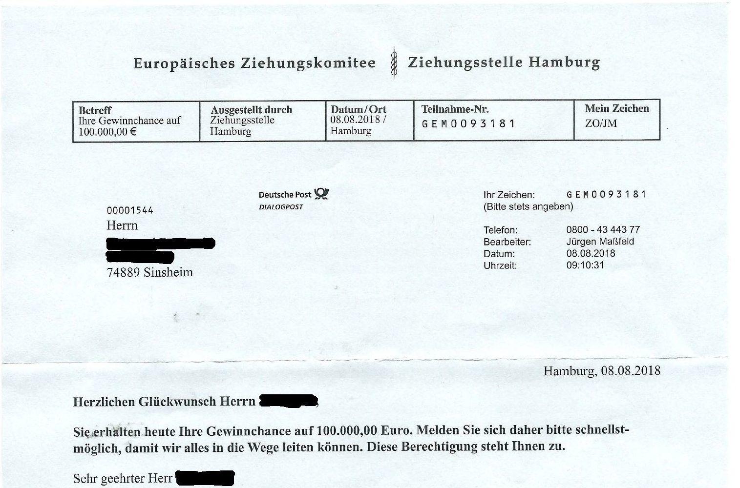 Sinsheim Statt Euros Gibt Es Lotto Zahlen Sinsheim Rhein Neckar