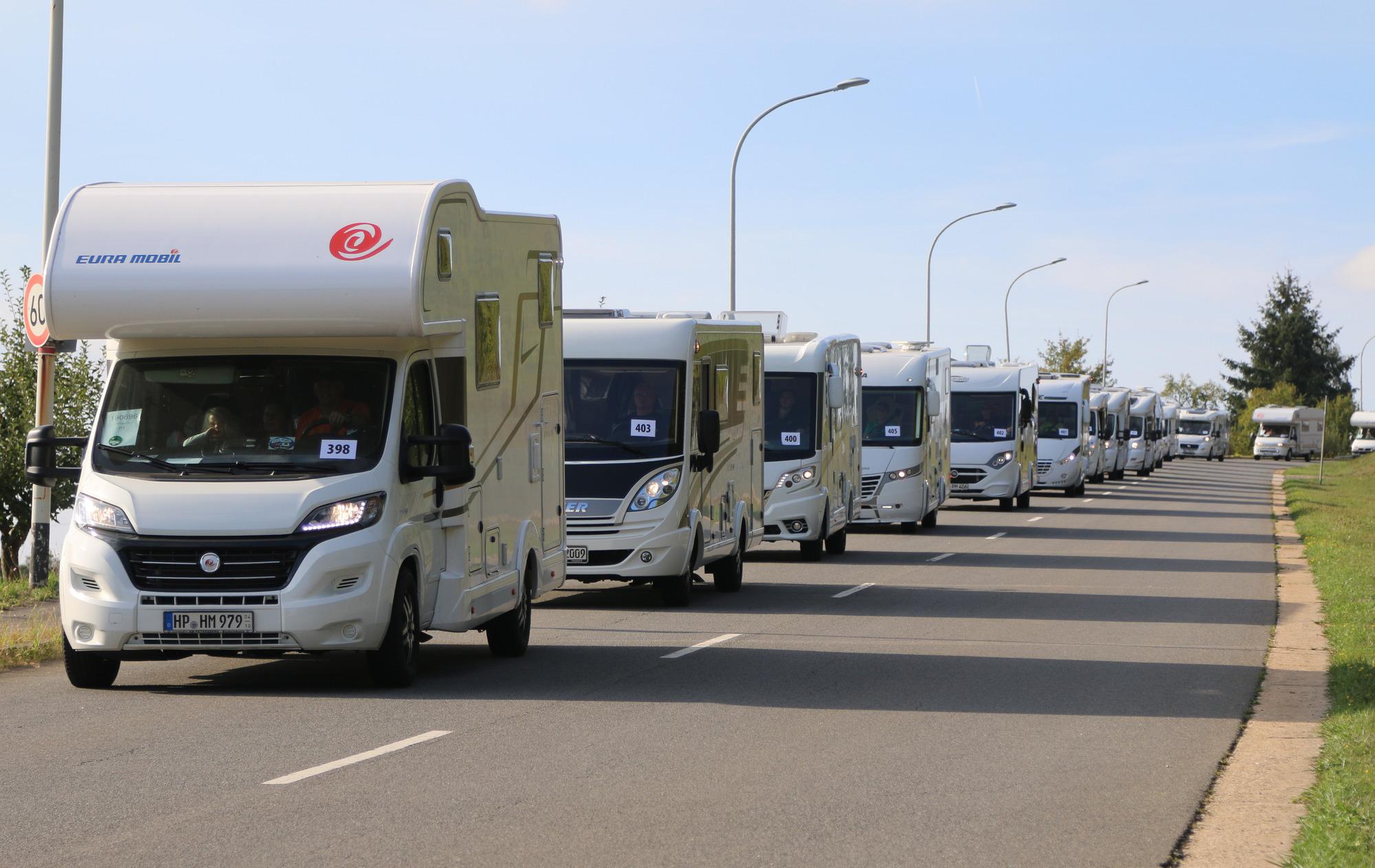 Wohnmobil-Weltrekord Hardheim: Camper scheitern auch mit dem