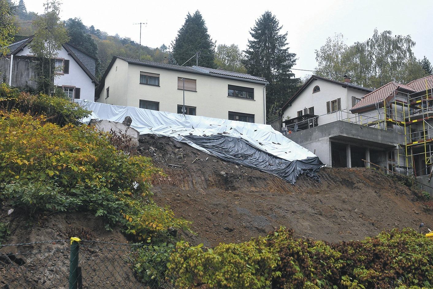 heidelberg ziegelhausen der rainweg ist wieder offen nachrichten aus heidelberg rhein. Black Bedroom Furniture Sets. Home Design Ideas