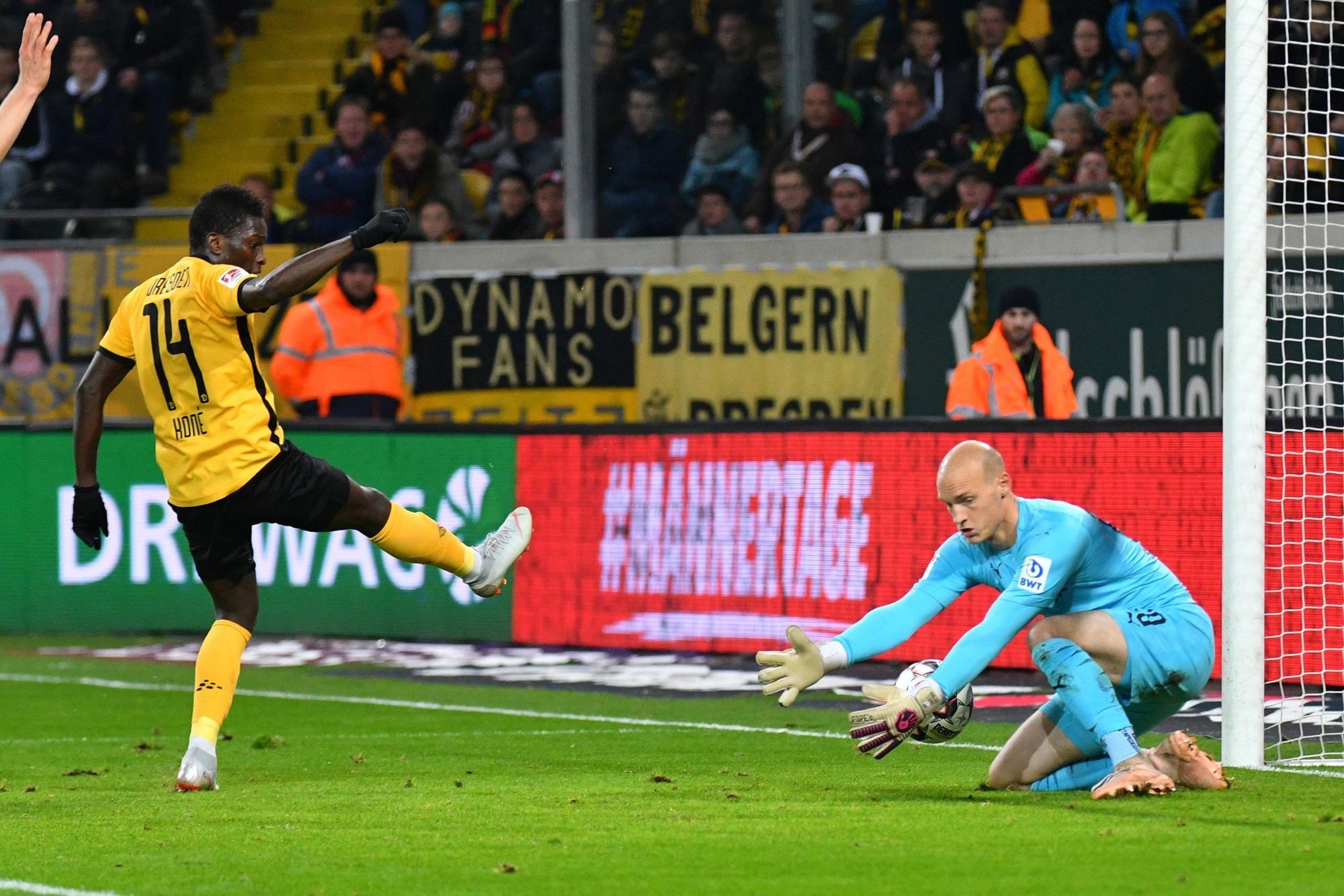 Sv Sandhausen Gegen Dynamo Dresden 13 Erste Liga Pleite Für
