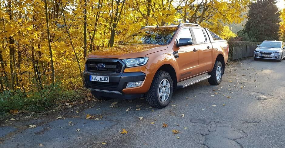 ford ranger wildtrak: ein pick-up für alle fälle - mobilität - rhein