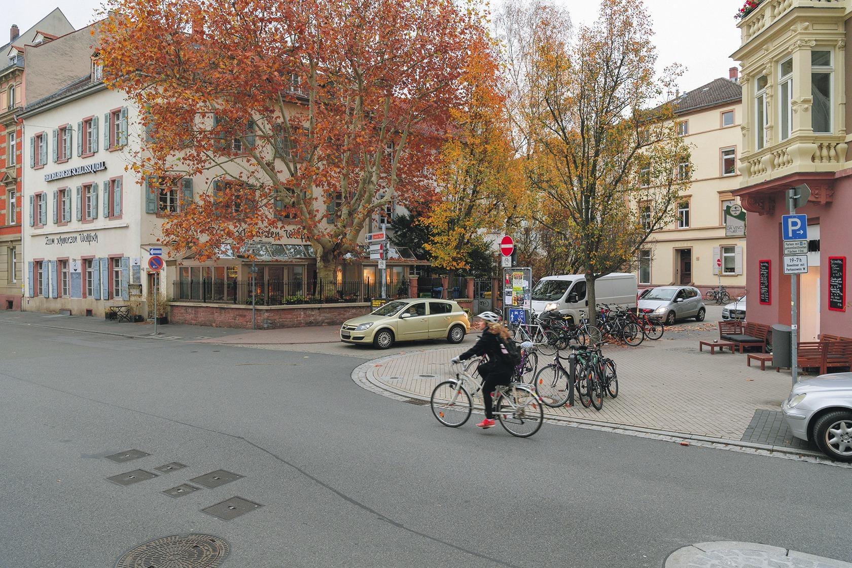Heidelberger Weststadt Damit Es Wirklich Jeder Autofahrer Kapiert