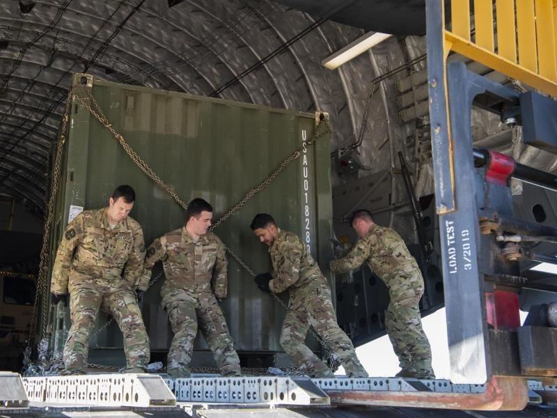 Mit us soldaten chatten Raketenangriff auf