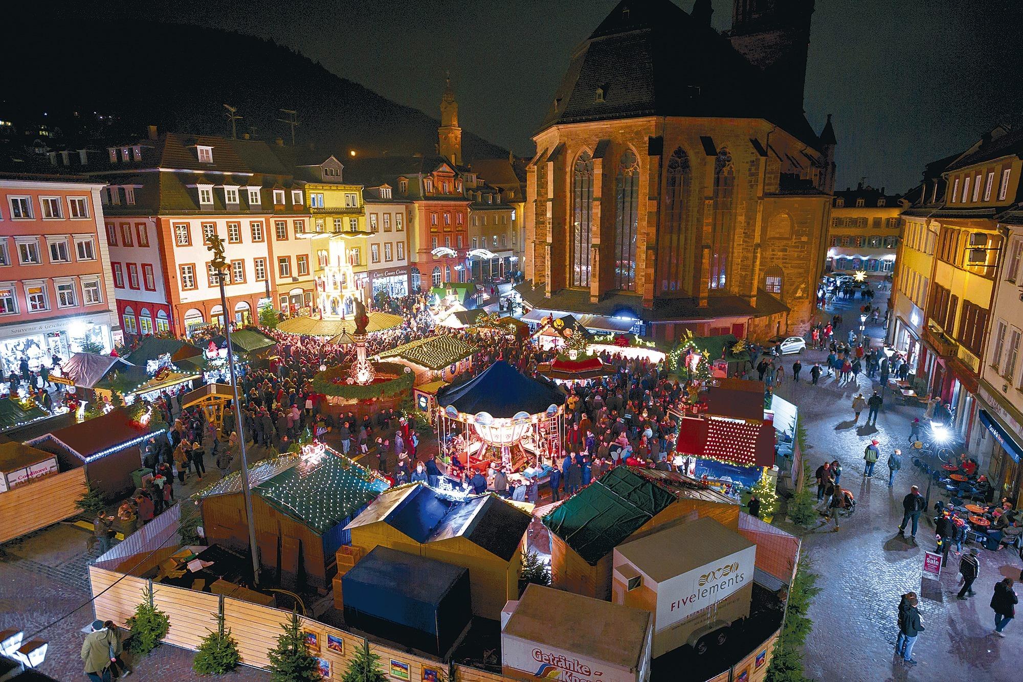 Heidelberg Weihnachtsmarkt.Heidelberg Schlossweihnacht Wird Nicht Mehr Wiederbelebt
