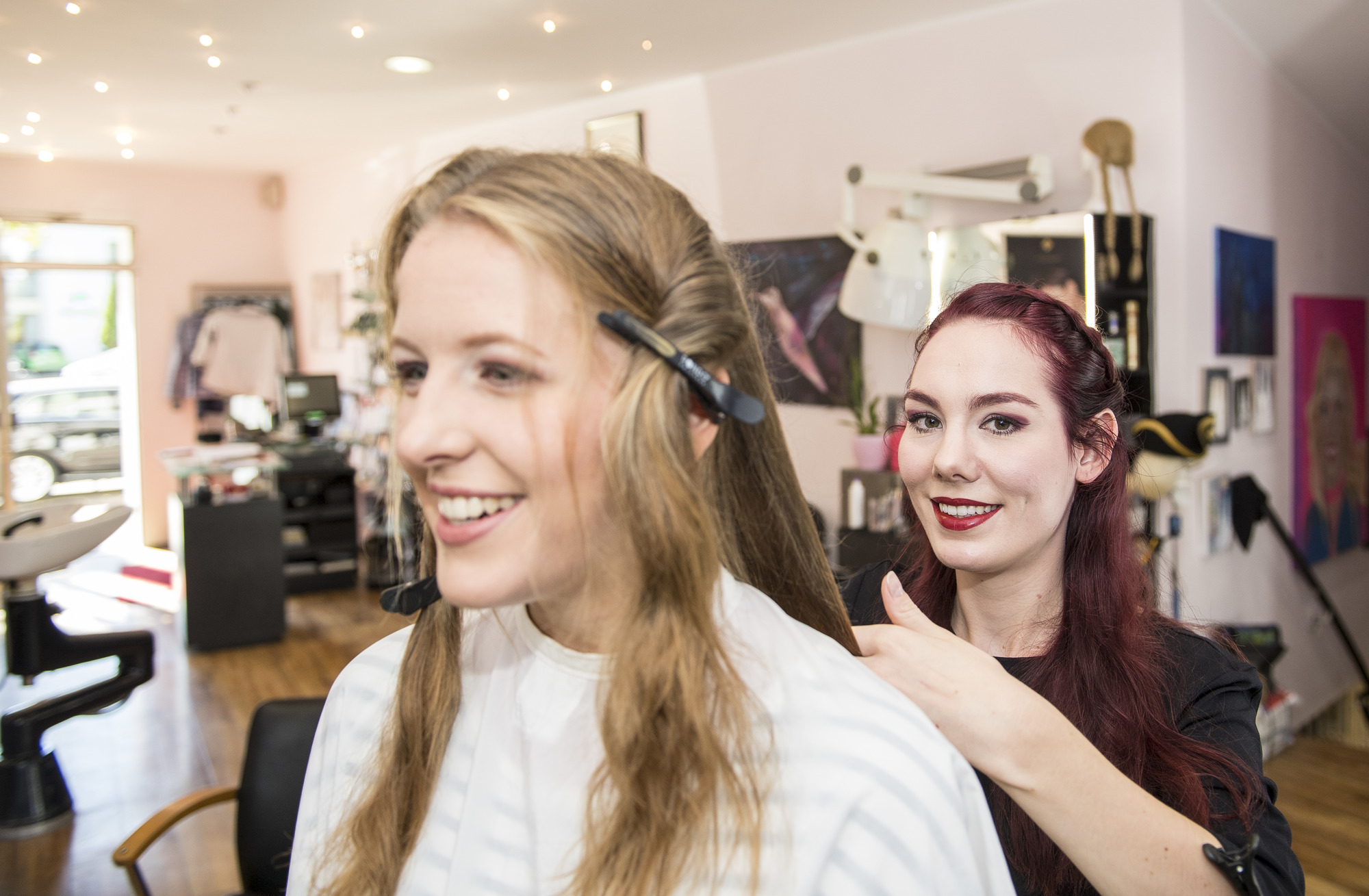 Friseur heidelberg dauerwelle