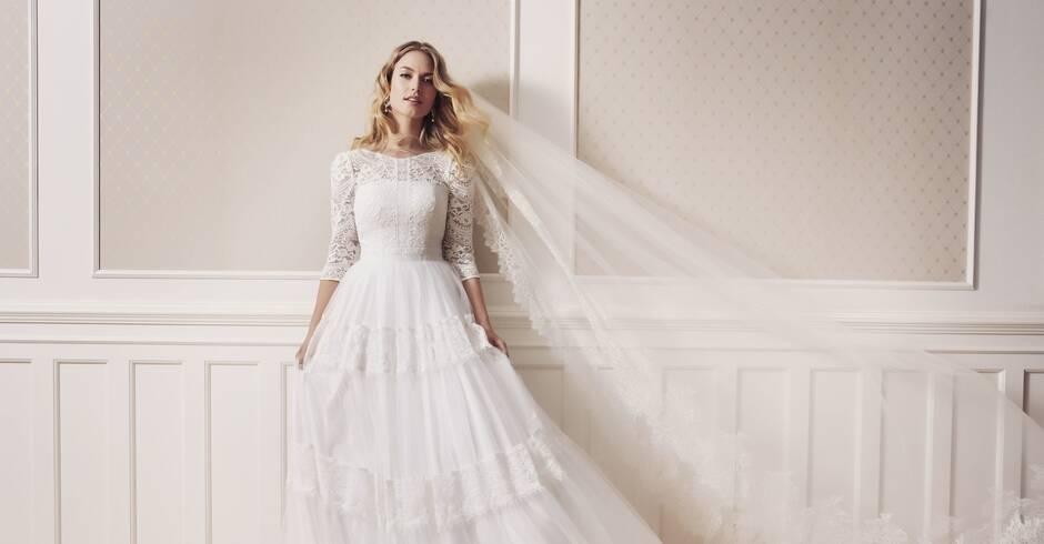 Brautmode Die Braut Tragt 2019 A Linie Lebensart Rhein Neckar