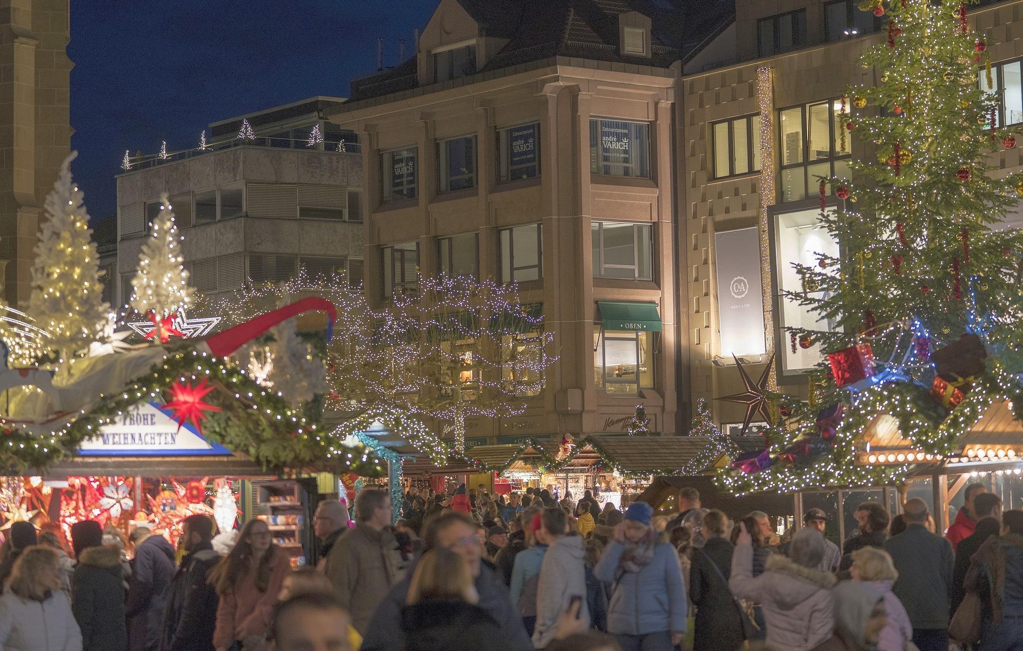 Weihnachtsmarkt Heilbronn.Heilbronner Weihnachtsmarkt Zwischenbilanz Fällt Positiv Aus