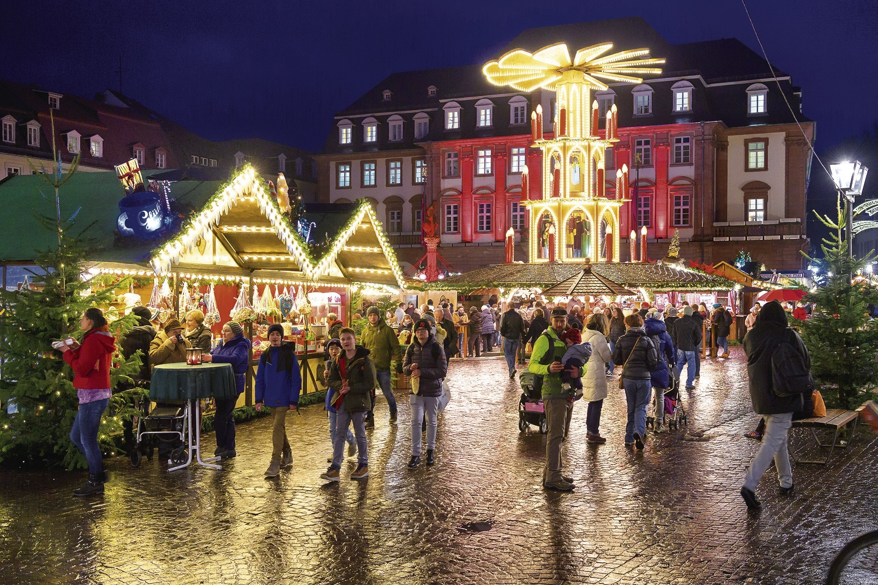 Heidelberg Weihnachtsmarkt.Heidelberg Erst Zu Mild Dann Zu Nass Für Den Weihnachtsmarkt