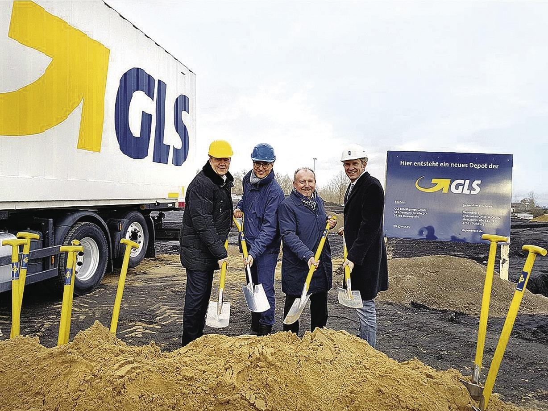 Gls Baut In Mannheim Umschlagplatz Für 80000 Pakete Pro Tag