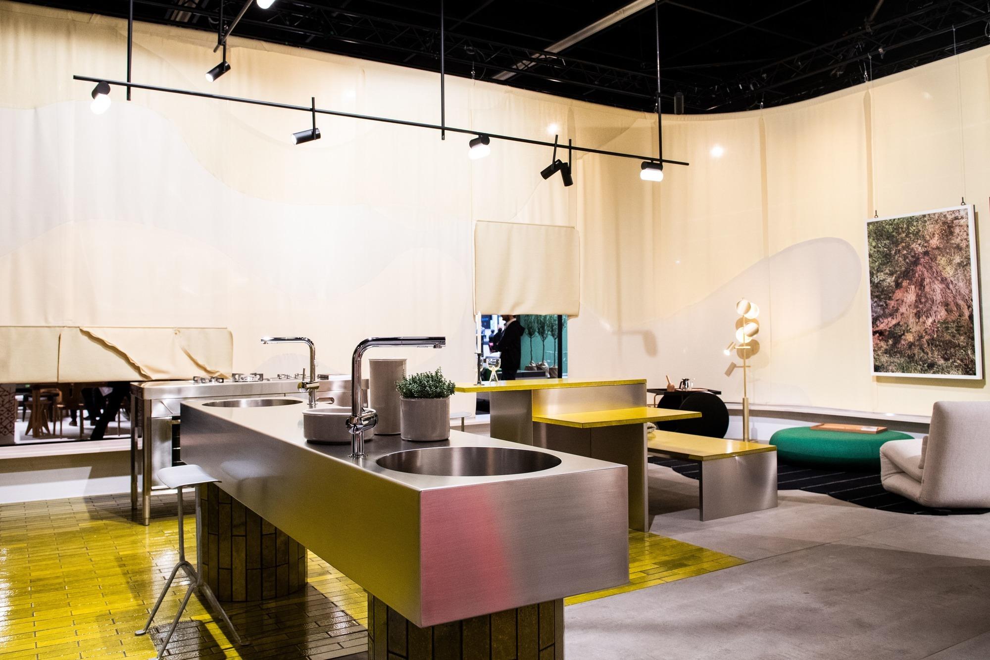 Möbelmesse IMM: In der modernen Küche bleibt vieles unsichtbar ...