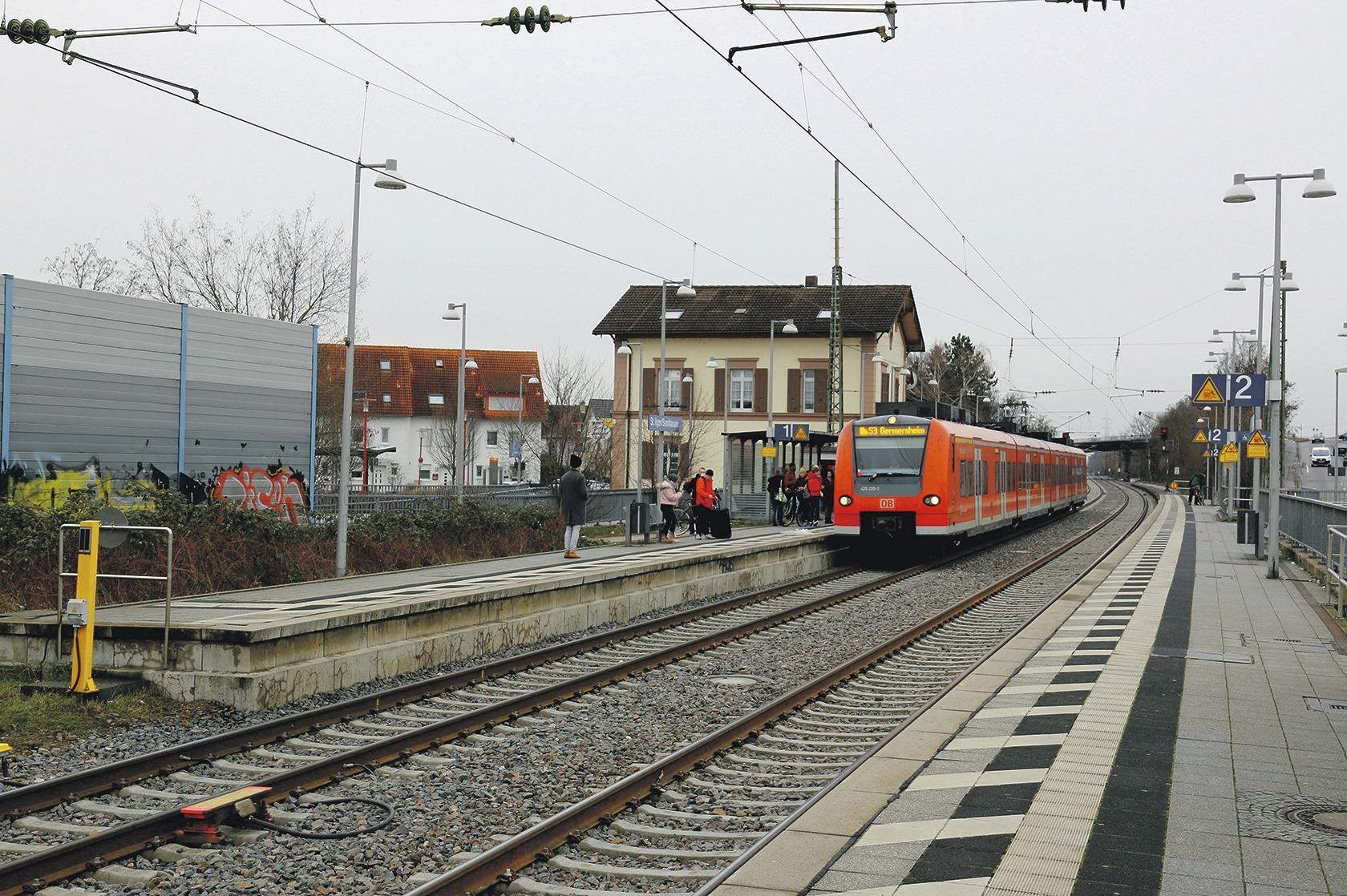Sandhausen Bahnhof