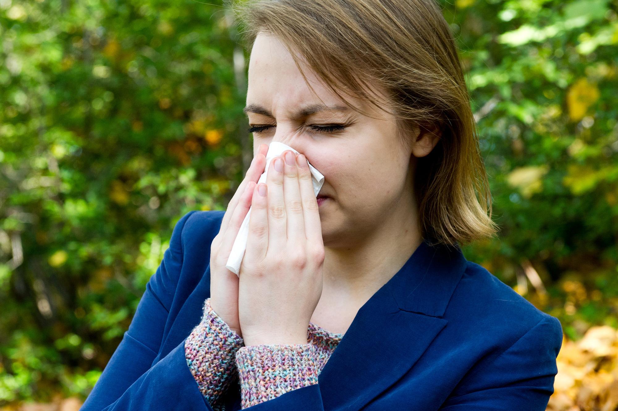 husten bei pollenallergie