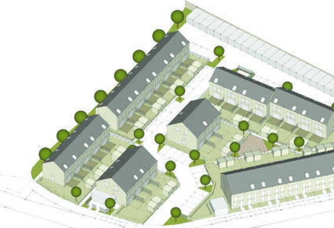 So Soll Es Aussehen: Das Neue Baugebiet In Der Weststadt. Die Bauarbeiten  Beginnen Nach Angaben Der Firma Anfang 2013. Grafik: Zg