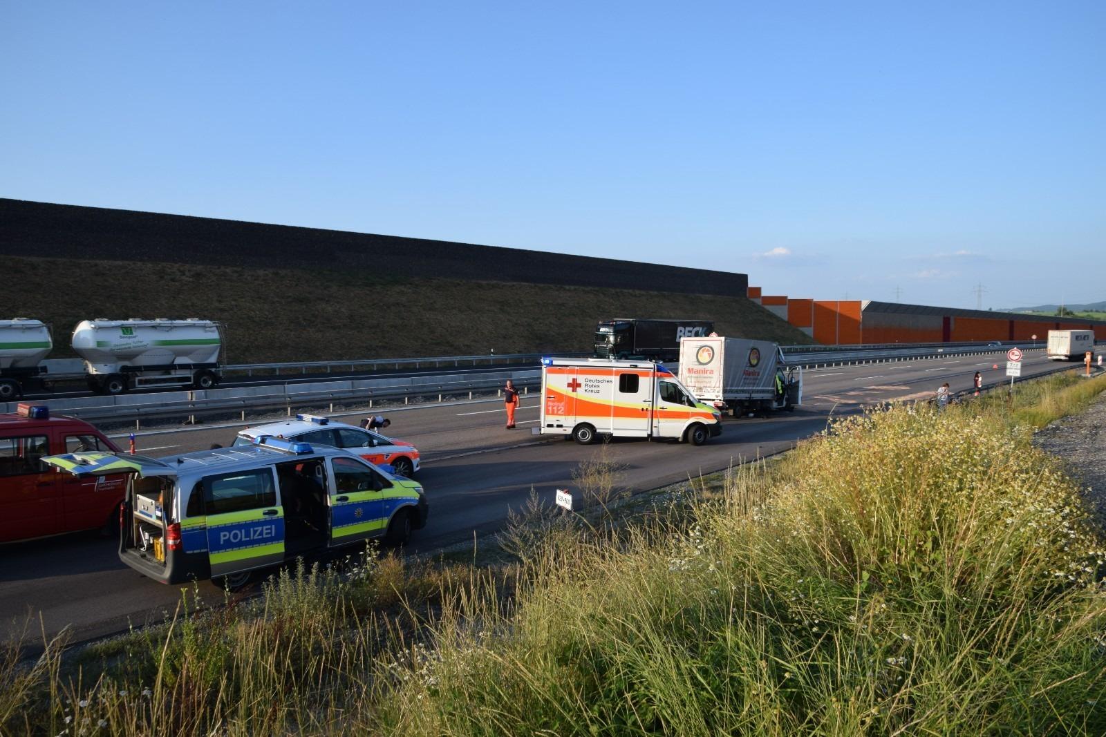 Tödlicher Unfall Auf A6 Rettungskräfte Sind Entsetzt über