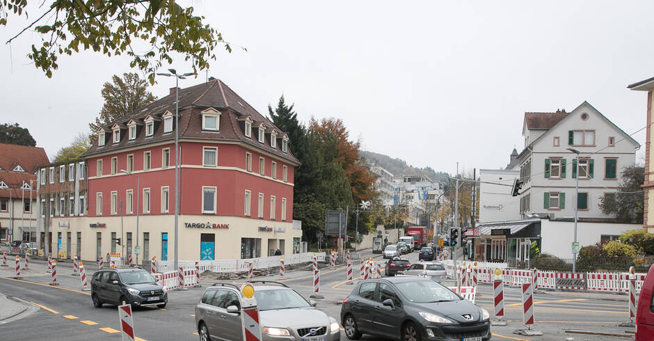 Weinheim: Postknoten gehört wieder den Autos - Bergstraße - Rhein-Neckar Zeitung
