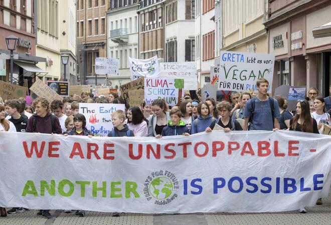 Heidelberg:  Fridays for Future ruft zur Streikwoche an Hochschulen auf