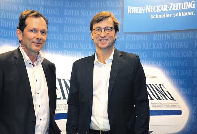 Uwe Schroeder-Wildberg beim RNZ Forum:  Mit Herz, Effizienz und einer schönen Bariton-Stimme