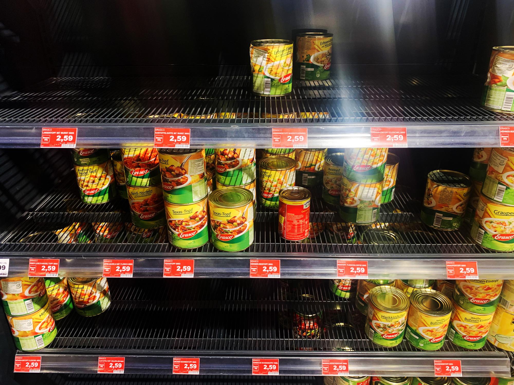 Hamsterkaufe In Der Region Corona Virus Sorgte Am Wochenende Fur Leere Supermarkt Regale Nachrichten Aus Der Metropolregion Rhein Neckar Rnz