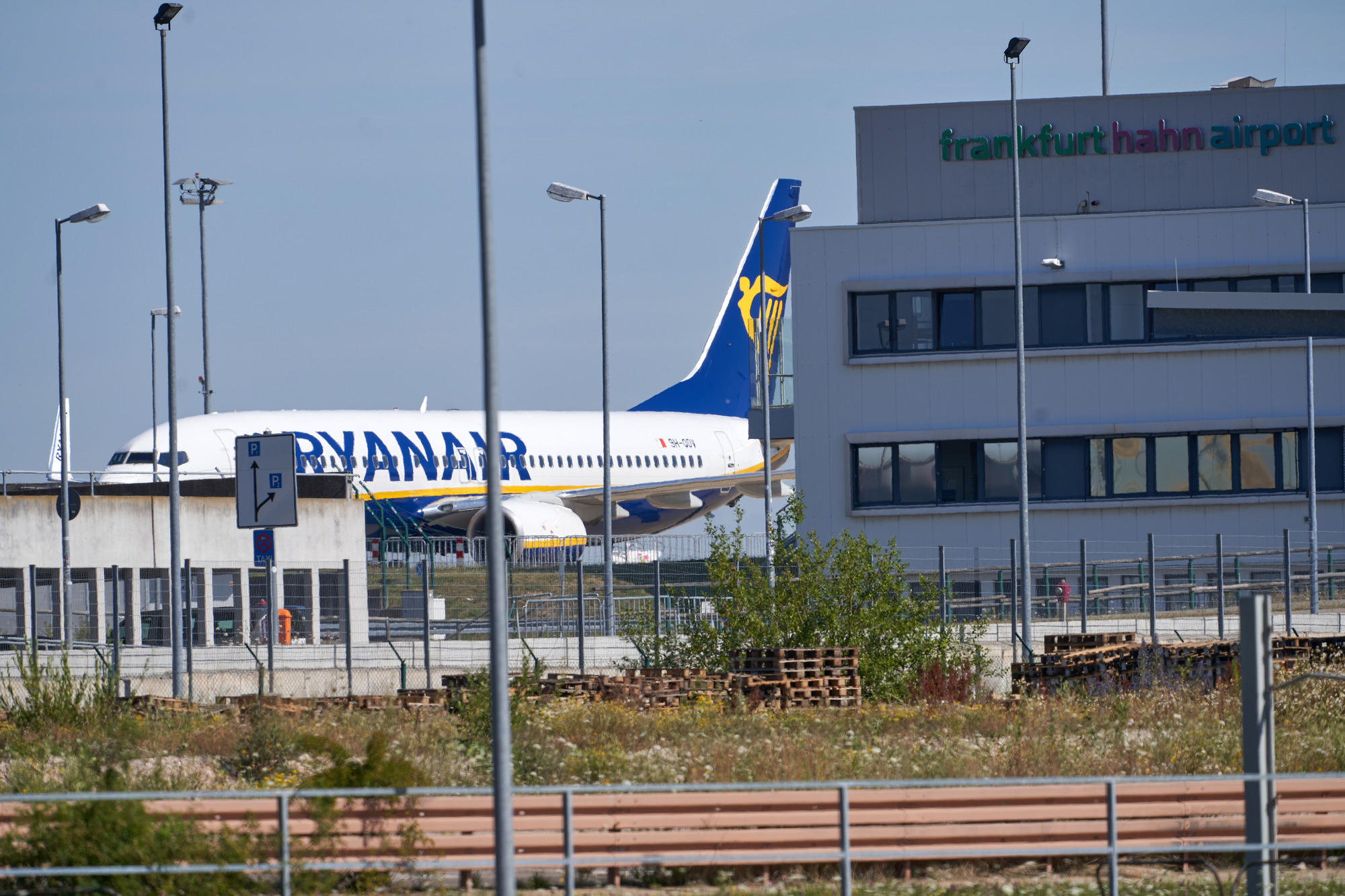 Ryanair Frankfurt Flughafen Terminal